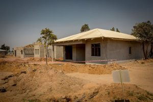 E14 - Contemporary B - Plastering and roof complete